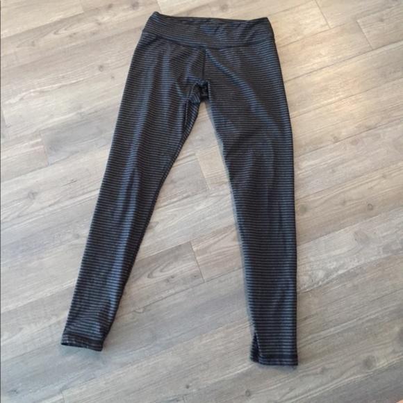 2648fd0b62eb3 Kyodan Pants - Kyodan Gray and black stripe yoga pants